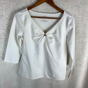 NWT Talbots Ladies V Neck Top